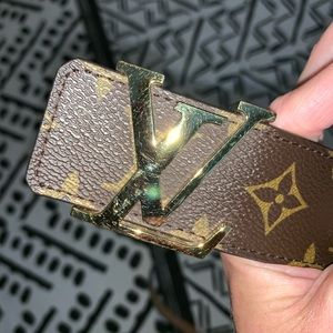 Louis Vuitton Accessories - Louis Vuitton LV Initiales Belt 100%Authentic